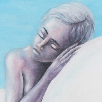Detail of Childlike infatuation with the white world