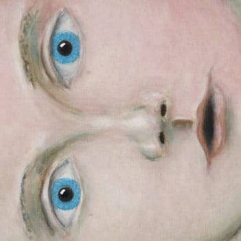 Detail of Open up and look again through the curious eyes of a child