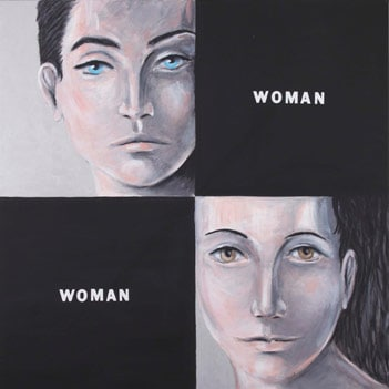 The painter sees the difference between women; the scientist eliminates the differences between women